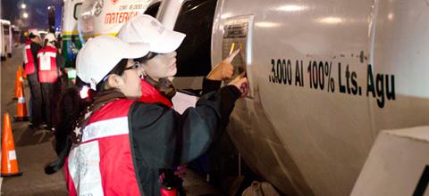 La Secretaría de Energía inmovilizó 6 pipas, en un operativo de verificación realizado en la zona norte del DF.
