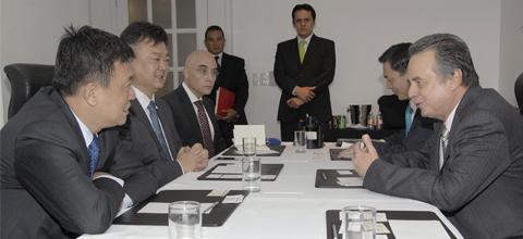Reunión del Secretario de Energía, Licenciado Pedro Joaquín Coldwell con empresarios de China