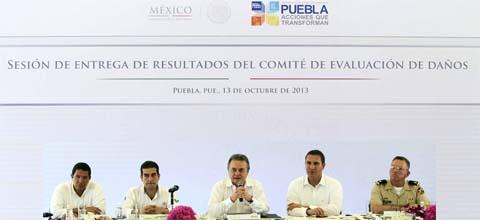 Gracias al trabajo conjunto entre Federación y Estados empieza la reconstrucción nacional.