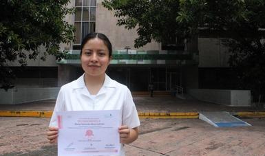 """Pasante de Enfermería de FES Iztacala que realizó su Servicio social en la CONAMED recibe el premio """"Pamela Babb 2021"""" al mejor trabajo de investigación en enfermería."""