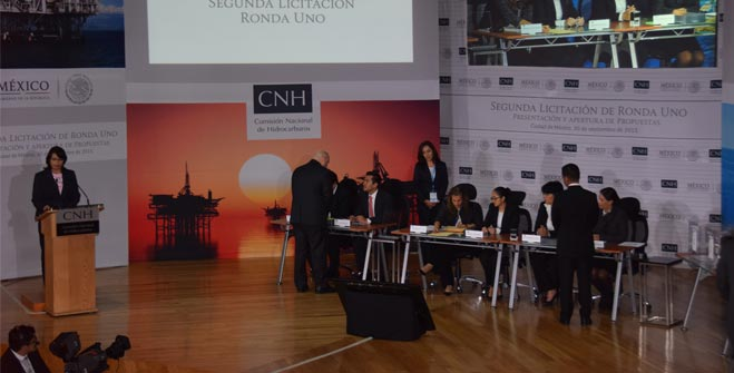 Resultados de la Licitación de Contratos para la Extracción de Hidrocarburos correspondientes a la Segunda Convocatoria de la Ronda Uno