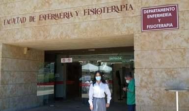 Pasante de enfermería de la FES Zaragoza que realiza su Servicio Social en la CONAMED se encuentra llevando a cabo una estancia de investigación en la Universidad de Salamanca, España.