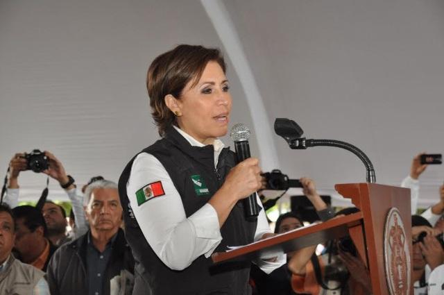 Incorporar a las mujeres a proyectos productivos permitirá desterrar la pobreza, la desigualdad, la violencia y la injusticia, afirmó la secretaria de Desarrollo Social, Rosario Robles Berlanga