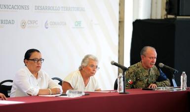MARINA informa avances sobre el Plan Integral de Dragado  en Tabasco, tras las inundaciones del 2020