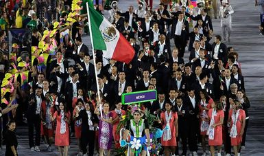 delegación Mexicana
