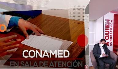 """La CONAMED fue invitada especial del programa de televisión """"A Quien Corresponda"""""""