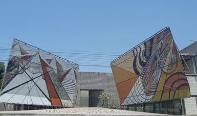 La Tallera, sede de Proyecto Siqueiros del Instituto Nacional de Bellas Artes y Literatura (INBAL) en Cuernavaca, Morelos, reúne a niñas y niños de nueve a 12 años en el curso de verano Pequeñas grandes estructuras.