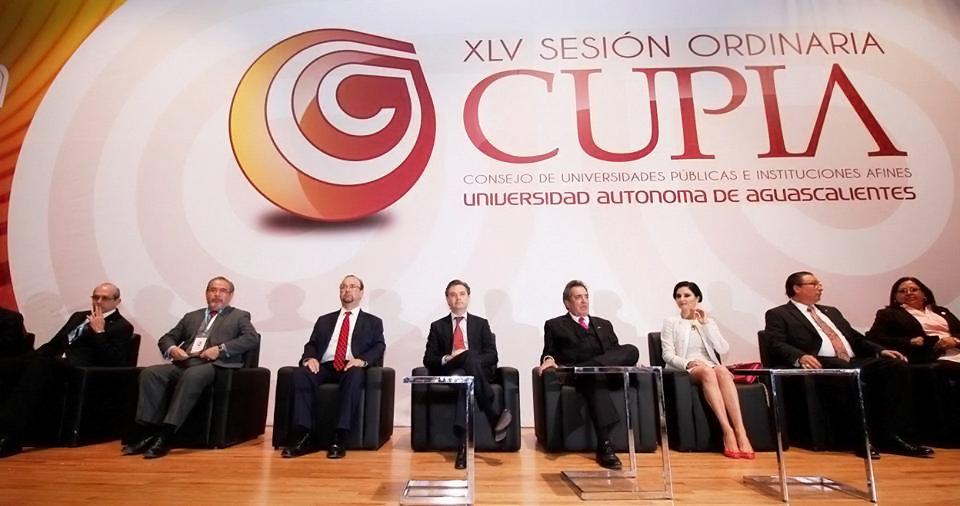 Mensaje del secretario de Educación Pública, Aurelio Nuño Mayer, durante la inauguración de la XLV Sesión Ordinaria del Consejo de Universidades Públicas e Instituciones Afines