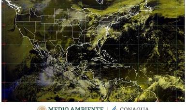Se pronostican lluvias intensas con tormentas eléctricas para Chiapas, Chihuahua, Oaxaca y Sinaloa.