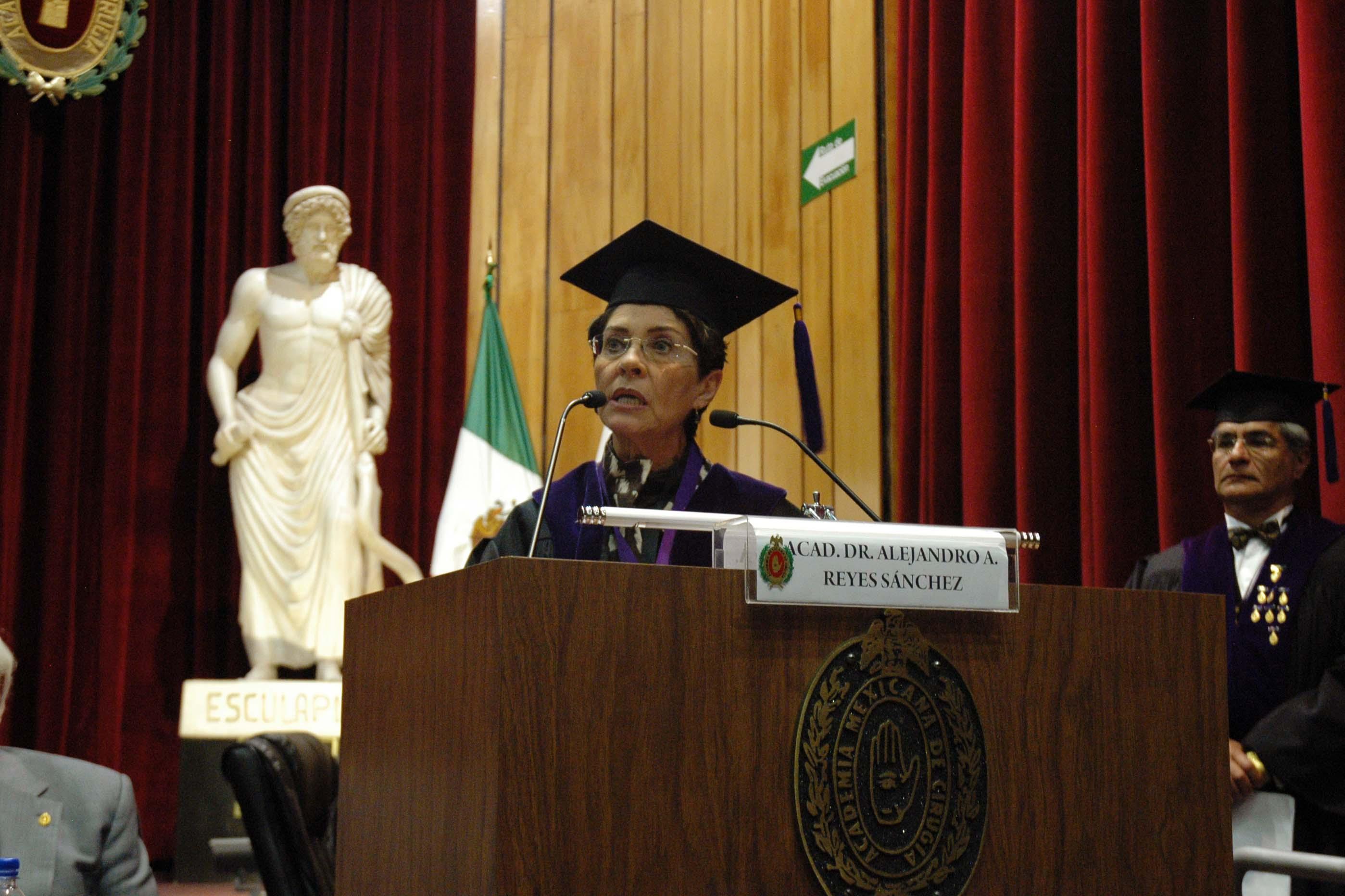 Inicio de  las actividades del octogésimo segundo año de la Academia Mexicana de Cirugía