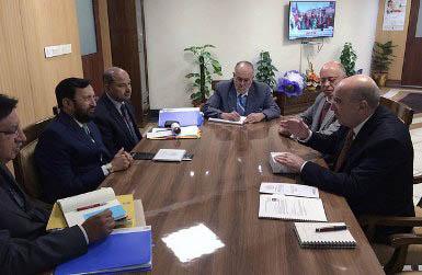 México se reúne con el Presidente del IPCC, Rajendra K. Pachauri.