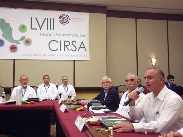 Participa Secretario José Calzada Rovirosa en la LVIII Reunión Extraordinaria del CIRSA.