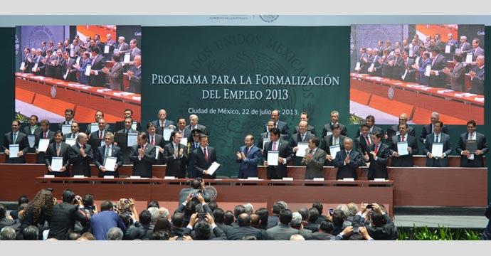 Presentan el Programa para la formalización del empleo 2013