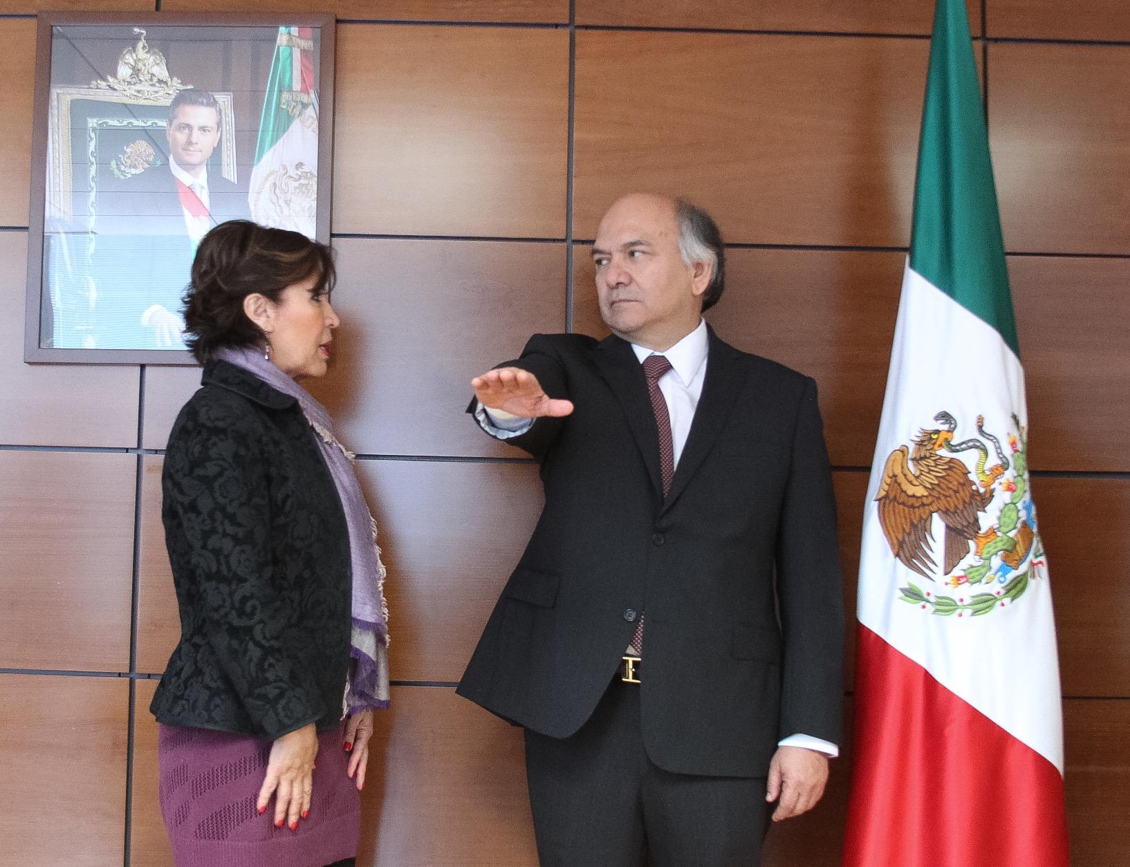 Froylán Rolando Hernández Lara rindió protesta como nuevo titular del RAN.