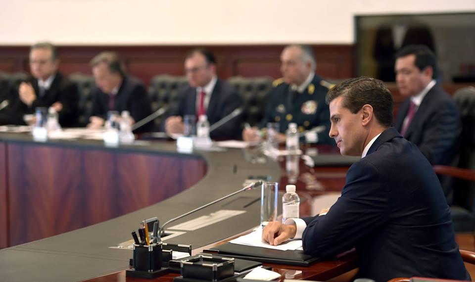 El Presidente Peña Nieto analizó con los miembros de su Gabinete los avances en distintas políticas públicas que el Gobierno de la República lleva a cabo.