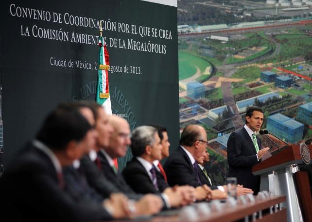La Comisión Ambiental de la Megalópolis retoma experiencias internacionales exitosas.