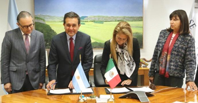 Se reúne el Secretario de Economía con la Ministra de Industria de la República Argentina