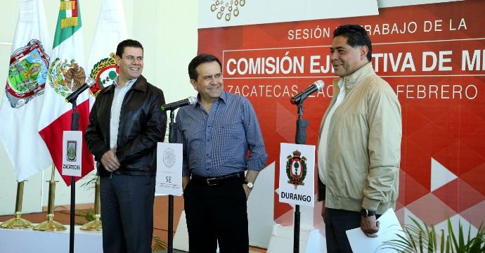 Participó el Secretario Ildefonso Guajardo Villarreal en la Comisión Ejecutiva de Minería de la CONAGO
