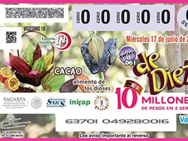Estadísticas del Servicio de Información Agroalimentaria y Pesquera (SIAP) detallan que la producción de cacao en México se ubica en 27 mil 844 toneladas, principalmente en los estados de Tabasco y Chiapas.