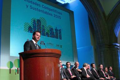 Índice de Ciudades Competitivas y Sustentables 2015