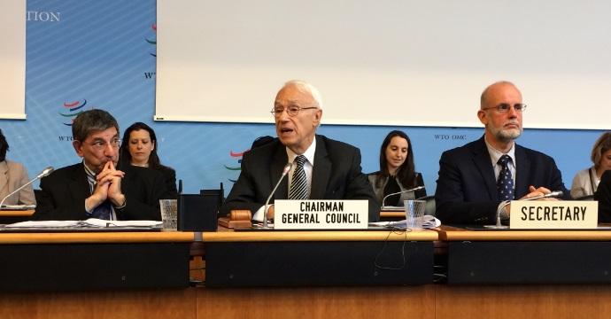 Designan a Fernando de Mateo Presidente del Consejo General de la Organización Mundial de Comercio