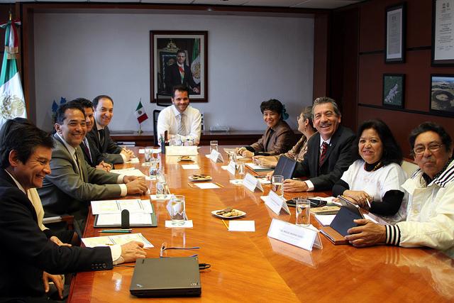 Reunión con presidentes de los CCDS