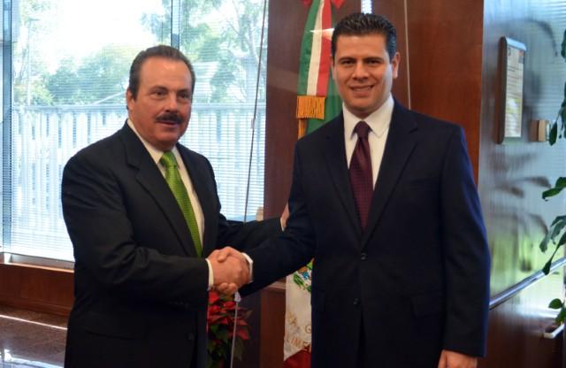 Refrendan compromisos para hacer un campo más productivo el Secretario de Agricultura y el Gobernador de Zacatecas