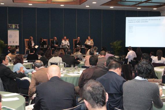 participó en el Forest Stewardship Council del Business Forum México Norma Munguía Aldaraca, Directora General del Sector Primario y Recursos Naturales Renovables de de la Semarnat