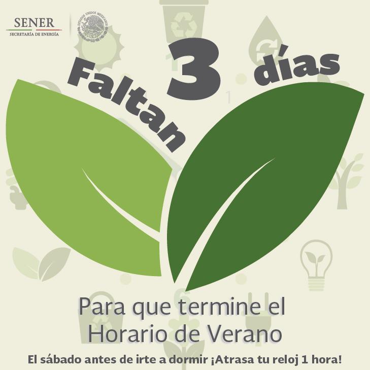 El Horario de Verano concluye este domingo 25 de octubre