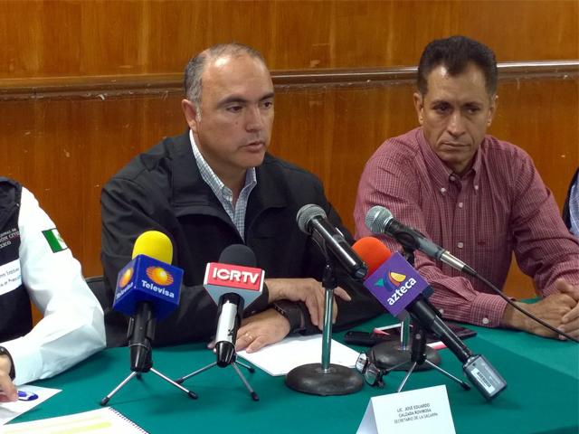 Por instrucciones del Presidente Enrique Peña Nieto, el secretario Calzada Rovirosa coordina las labores de prevención y atención en Colima.