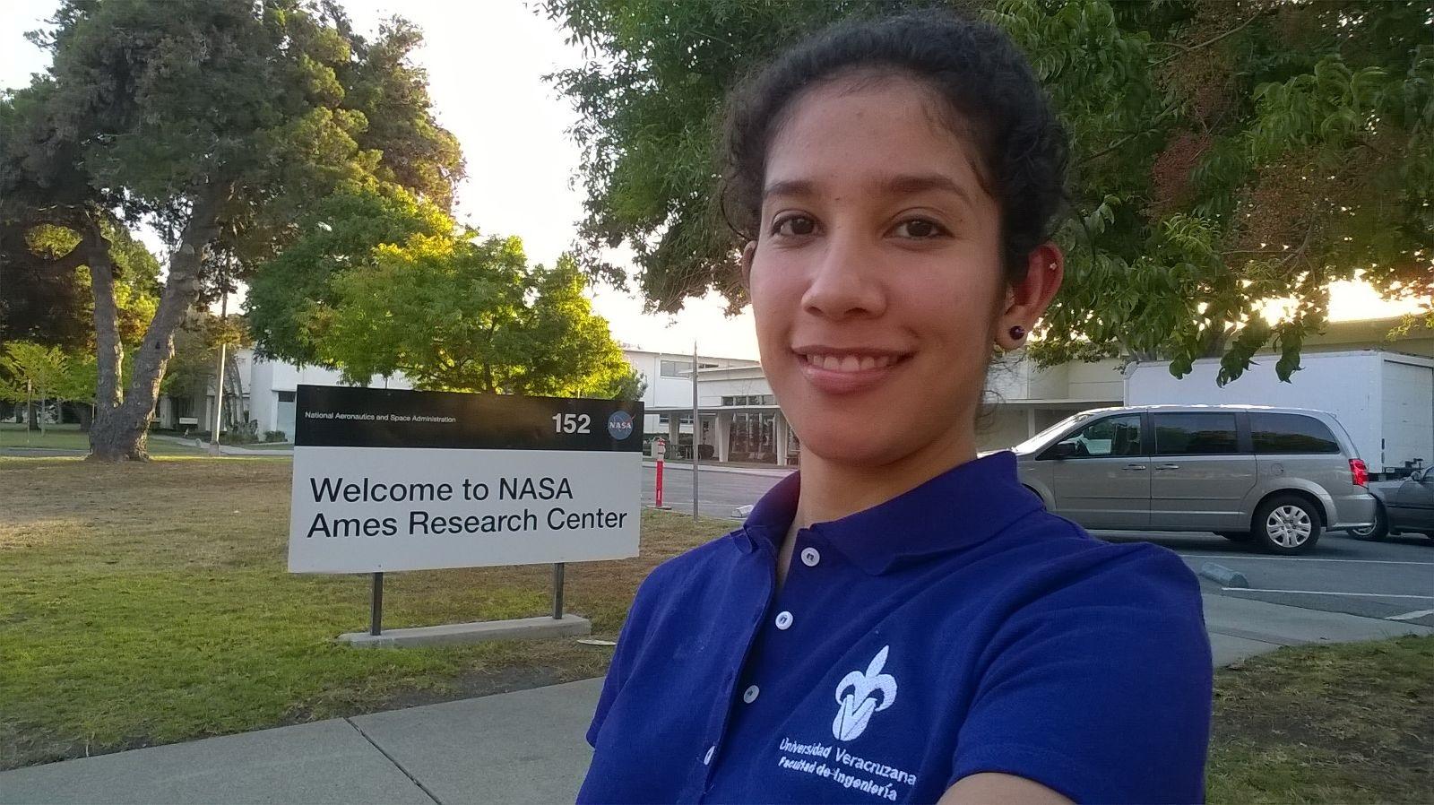 Primera universitaria mexicana desarrolla investigación científico espacial en la NASA
