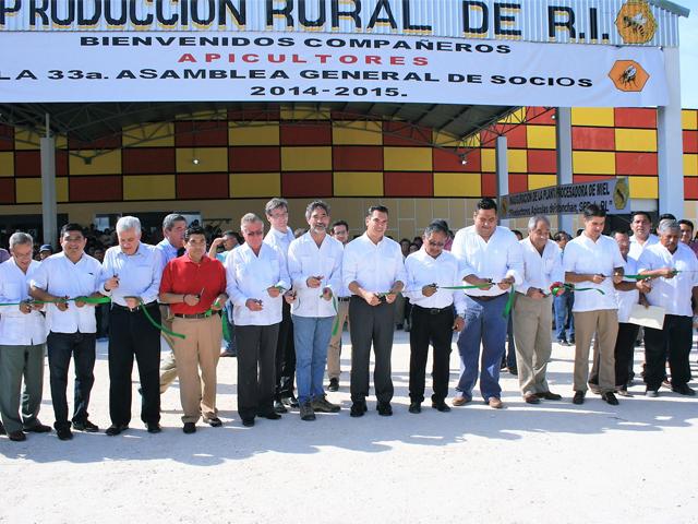Inauguración de la planta procesadora de miel del municipio de Champotón.