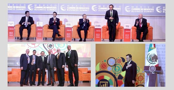 """Asiste Ildefonso Guajardo Villarreal a la 13a México Cumbre de Negocios """"Innovación: Motor del Desarrollo Económico"""""""