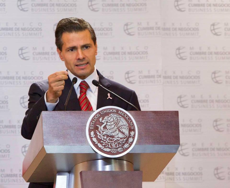 El Presidente Peña Nieto participó en la 13ª Edición de México Cumbre de Negocios, Innovación: Motor del Desarrollo Económico.
