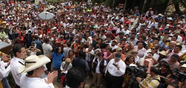 He tenido mayor presencia en el Estado de Guerrero, por esta razón que ya he comentado, porque fue el estado más afectado y mayores daños.