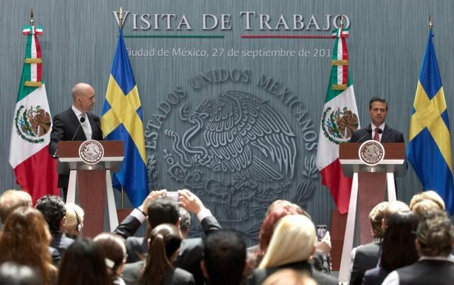 Solamente recordar que hace prácticamente tres décadas que no teníamos la oportunidad de tener en México al Primer Ministro de este país hermano.