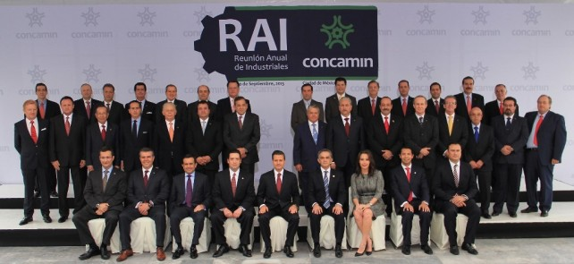 El Gobierno que usted encabeza cuenta con todo el respaldo de los industriales mexicanos.