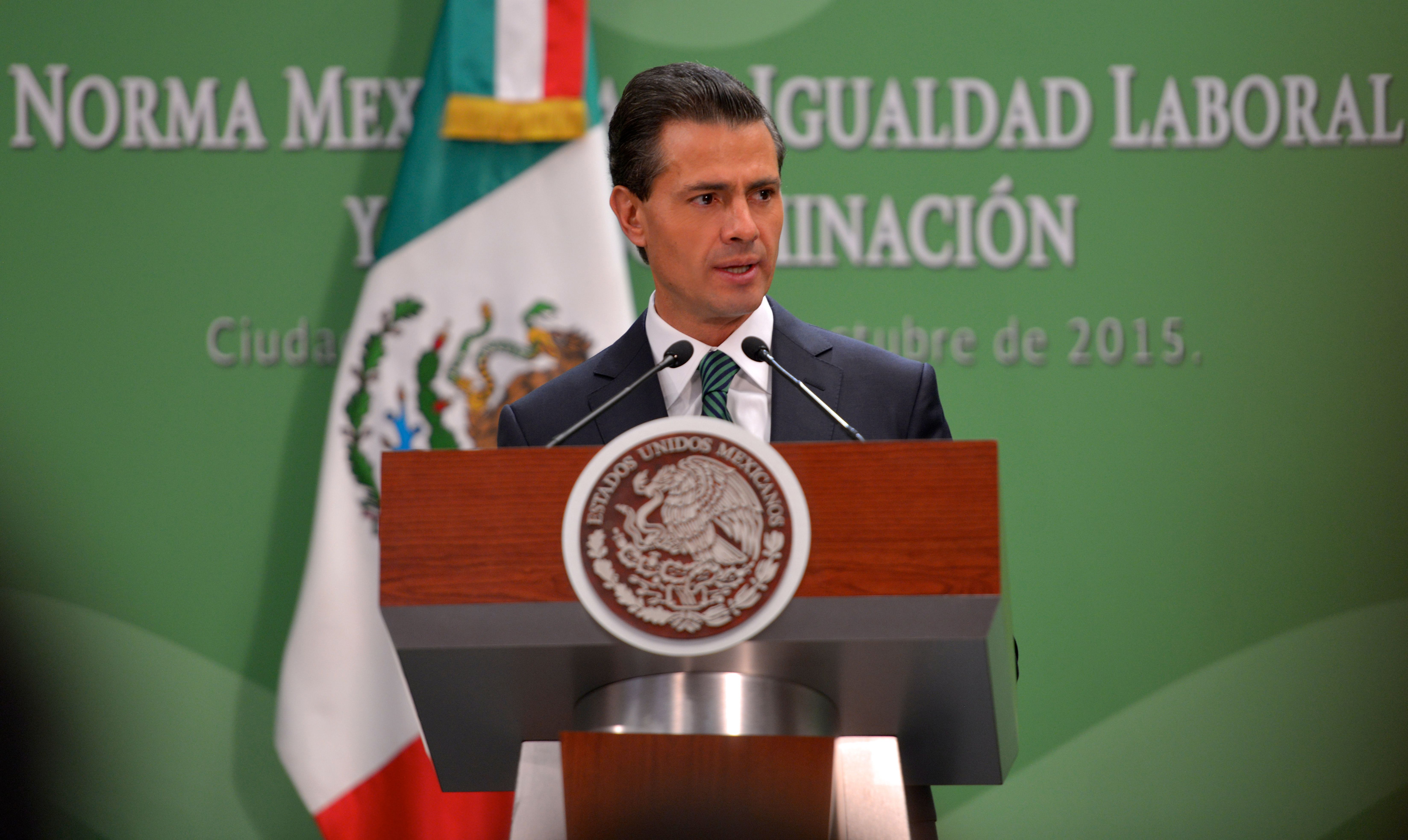 """El Presidente de la República, Enrique Peña Nieto, aseguró que """"para que México pueda crecer con mayor dinamismo y equidad, es necesario aprovechar la energía, el talento y el trabajo de todas y todos los mexicanos""""."""
