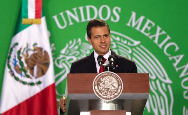 Confío plenamente en que este sector asumirá, como lo ha venido haciendo, una actitud positiva para mejorar el bienestar de los mexicanos.