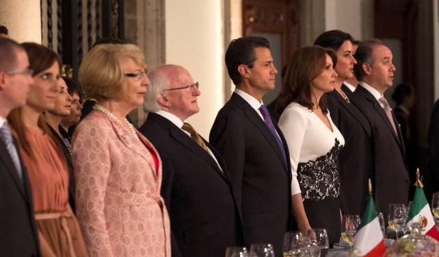 México e Irlanda comparten tanto, tantos valores en común, somos socios de mentalidad fuerte, que trabajan juntos en foros globales, en mercados globales.
