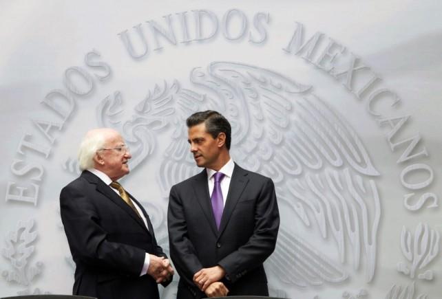Quisiera empezar expresándole al Presidente Peña Nieto mi sincero agradecimiento por sus palabras y esta calurosa bienvenida que ha extendido a mi esposa, y a mi persona, y a todos los miembros de la delegación.