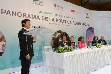 El Secretario de la Función Pública, Virgilio Andrade Martínez.
