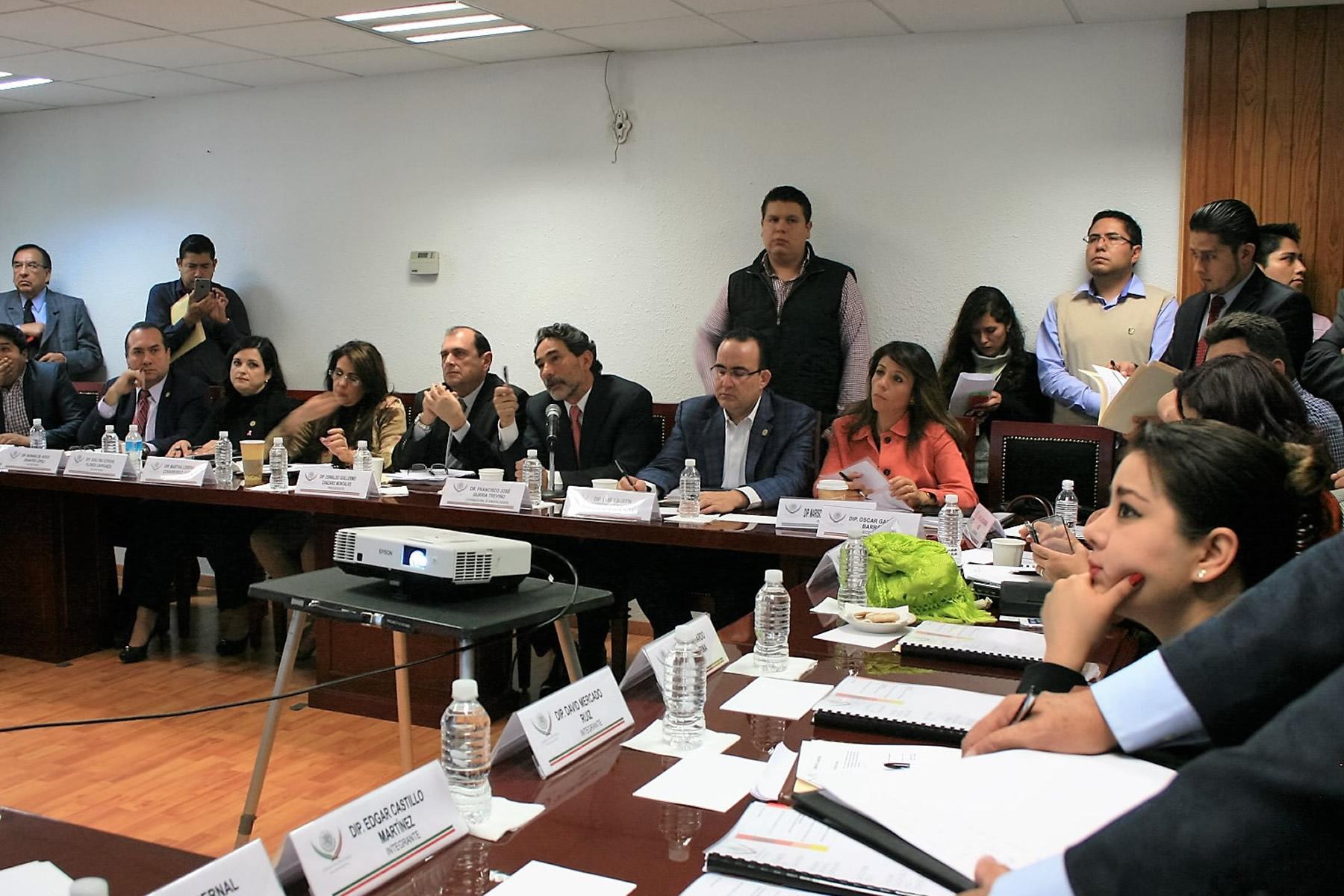 El coordinador general de Ganadería, Francisco Gurría Treviño, expuso ante los integrantes de la Cámara de Diputaos la evolución del sector.
