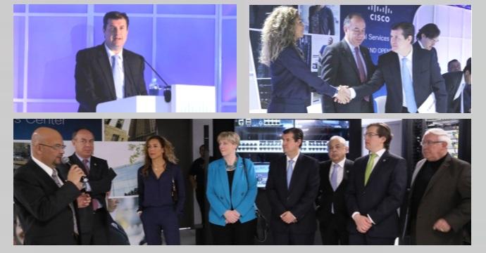 Inauguración del Centro Global de Servicios CISCO
