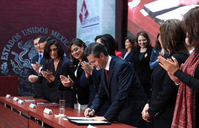 Mi mayor reconocimiento y gratitud a todas las mexicanas que están decididas a hacer historia y a mejorar la calidad de vida de nuestro país.