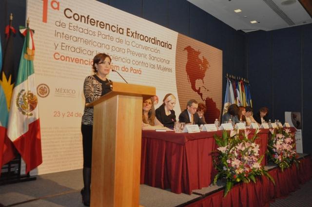 Erradicación de la violencia contra las mujeres