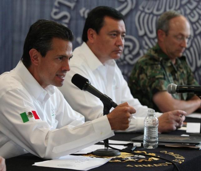 Reitero, habré de hacer un recorrido constante, permanente y regular en los próximos meses por Guerrero y todas las entidades afectadas
