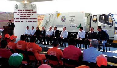 Modernización del equipamiento de la Estación de Transferencia de la zona oriente de Querétaro.