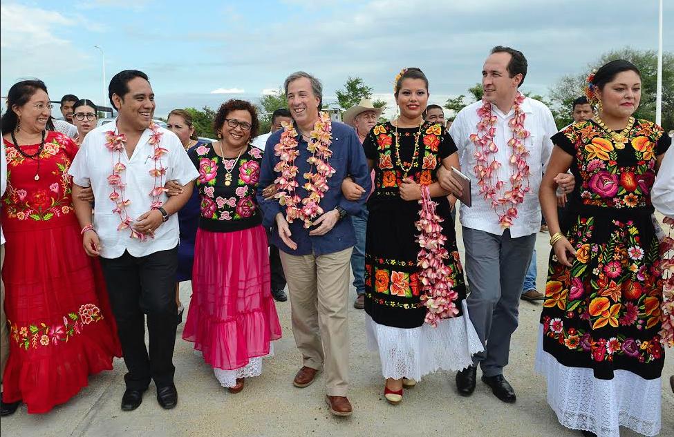 El secretario José Antonio Meade visitó Oaxaca.