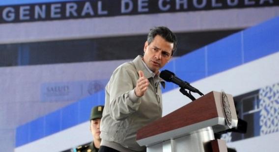 Palabras del President eEnrique Peña Nieto, durante la Inauguración del Hospital General de Cholula